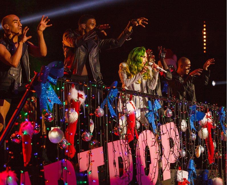 Lady Gaga Jingle Bell Boy 2013 live