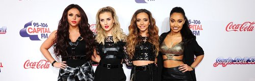 Little Mix Jingle Bell Ball 2013: Red Carpet