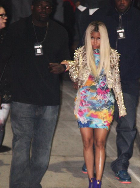 Nicki Minaj watched Jay Z in concert