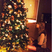 8. Taylor Swift loves Christmas time... and can't stop looking at her tree this year!