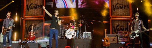 The Vamps Jingle Bell Ball 2013 live