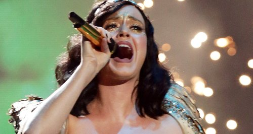 Katy Perry performs on X Factor
