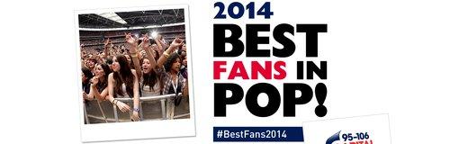 Best Fans In Pop 2014