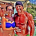 41. Cheryl Cole Enjoys Her Holiday In Cape Town... And Greets A Muscle Man!