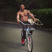22. Jason Derulo Shows Off His Muscles With A Topless Bike Ride