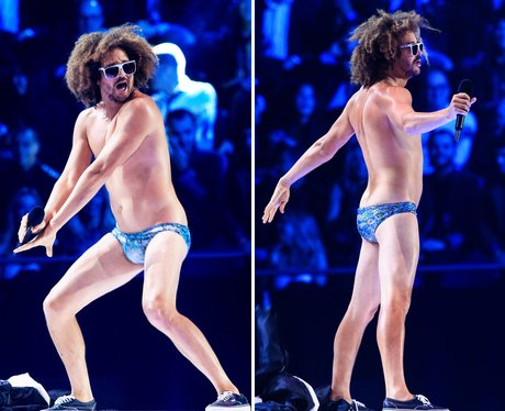 Riskiest Outfits: Redfoo