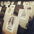 Katy Perry Grammy Awards Seating Chart Instagram