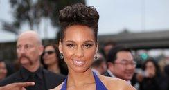 Alicia Keys at the Grammy Awards 2014