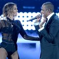 Beyonce and Jay Z live at the Grammy Awards 2014
