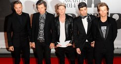 One Direction BRIT Awards 2014 Red Carpe