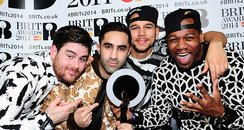 Rudimental at the Brit Awards 2014