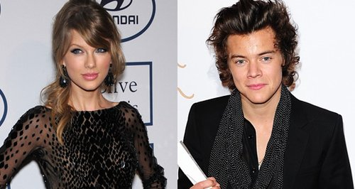 Tayler Swift and Harry Styles