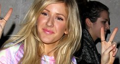 Ellie Goulding Peace Sign