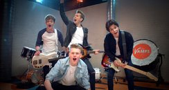 The Vamps in their 'Last Night' Music Video