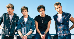 The Vamps Debit Album 'Meet The Vamps' Poster