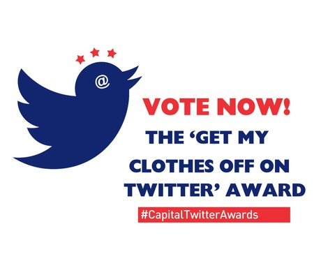 Twitter Awards 2014: The 'Get My Clothes Off On Tw