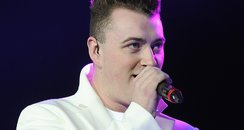 Sam Smith on stage