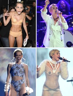 Miley Cyrus Craziest Outfits BILLBOARD