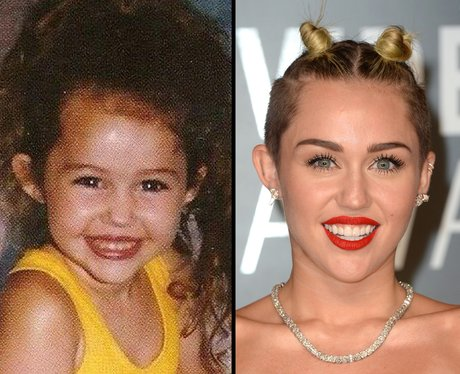Miley Cyrus Baby Picture