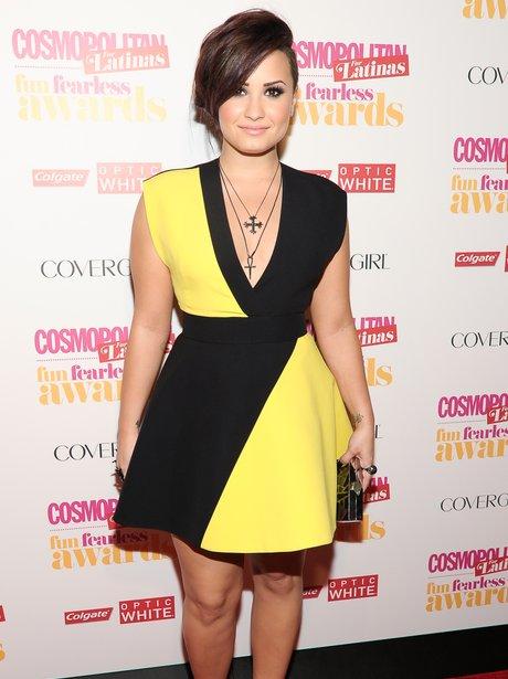 Demi Lovato Cosmopolitan Latinas Awards 2014