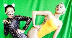Miley Cyrus Noah Sister Instagram