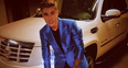 Justin Bieber suited and booted on Instagram