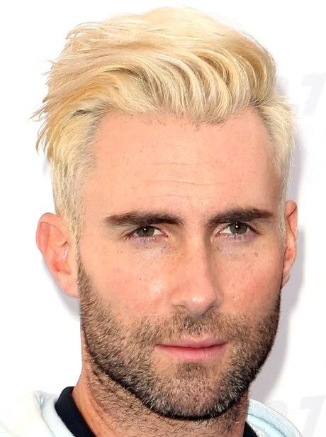 When Adam Levine Surprised Us All By Going Bleached
