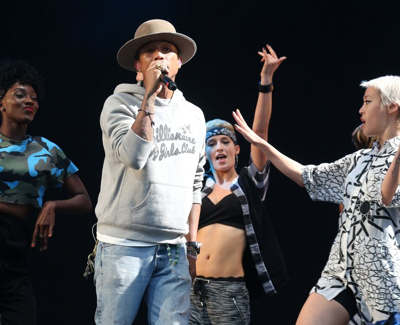 Pharrell T In The Park 2014