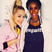 74. Rita Ora poses for a picture with pregnant Destinys Child star Kelly Rowland