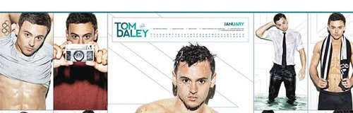 Tom Daley Calendar 2015