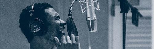 Usher in the studio