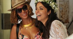 Beyonce gatecrashes wedding in Italy