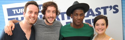 Labrinth dropped in on Bodg, Matt and JoJo
