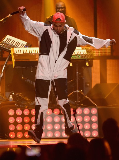 Chris Brown iHeart Radio 2014