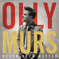 Olly Murs Never Been Better Album Cover