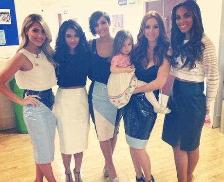 The Saturdays and Baby Aiofe