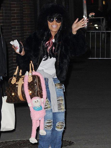 Nicki Minaj Monkey Handbag