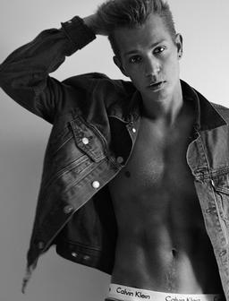 James McVey Topless