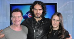 Russell Brand with Greg Burns and Kat Shoob