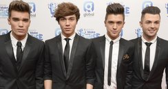 Union J at Global Make Some Noise Evening 2014 Arr