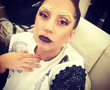 Lady Gaga shares an private moment with her # ... Lady Gaga Instagram