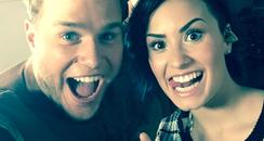Olly Murs & Demi Lovato Instagram