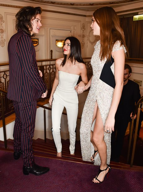 Harry Styles, Cara Delevingne and Kendall Jenner B