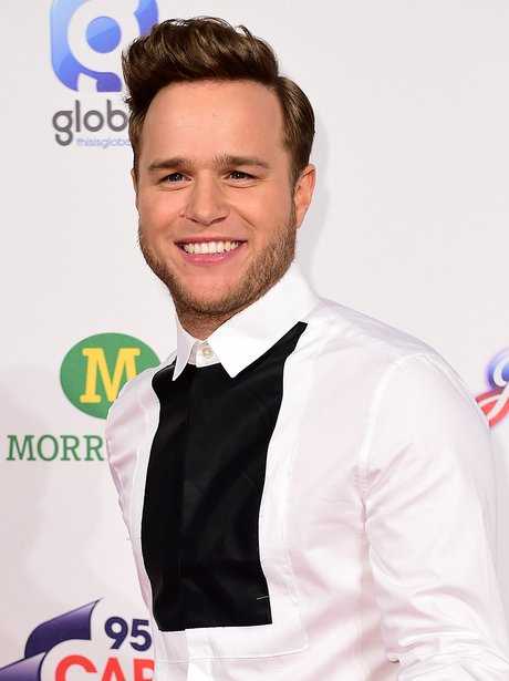Olly Murs Red Carpet at the Jingle Bell Ball 2014