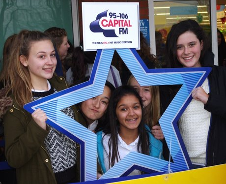 Union J at Morrisons Leicester