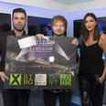 Ed Sheeran Backstage Jingle Bell Ball 2014