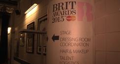 Brits backstage