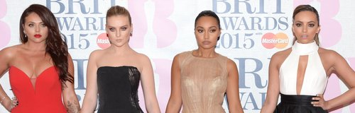 Little Mix BRIT Awards Red Carpet 2015
