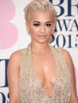 Rita Ora BRIT Awards 2015 Red Carpet 2015