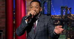 Will Smith Rapping On David Letterman